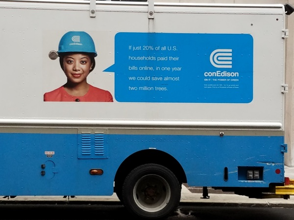 ConEdison are lying about paper bills