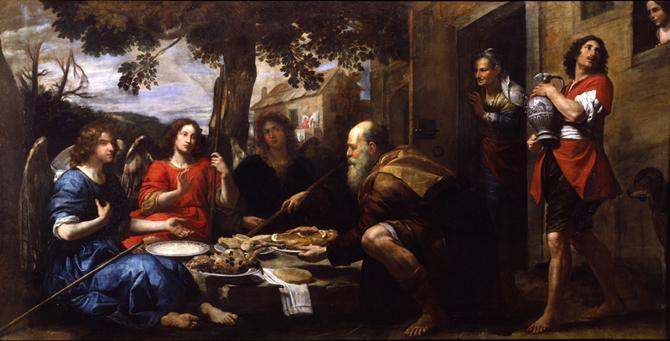Convitto di Abramo o Abramo e i 3 angeli