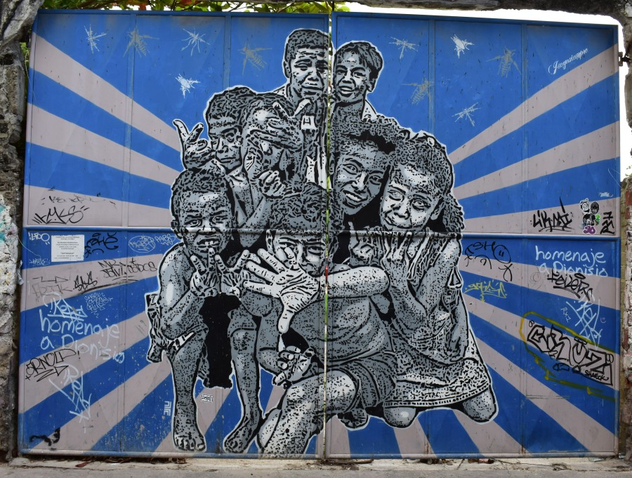 Cartagena Mural