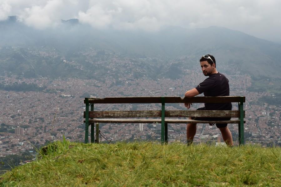Medellin bench
