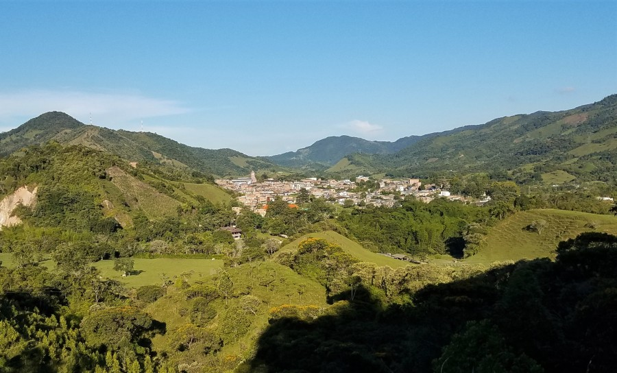 SanCa view of town