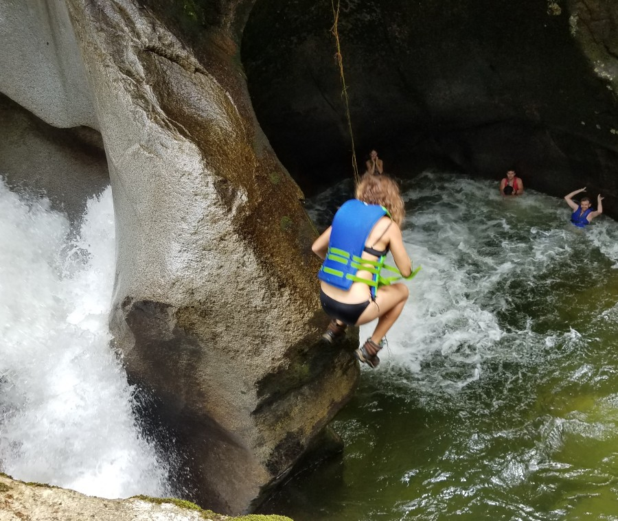 SanCa waterfall jump