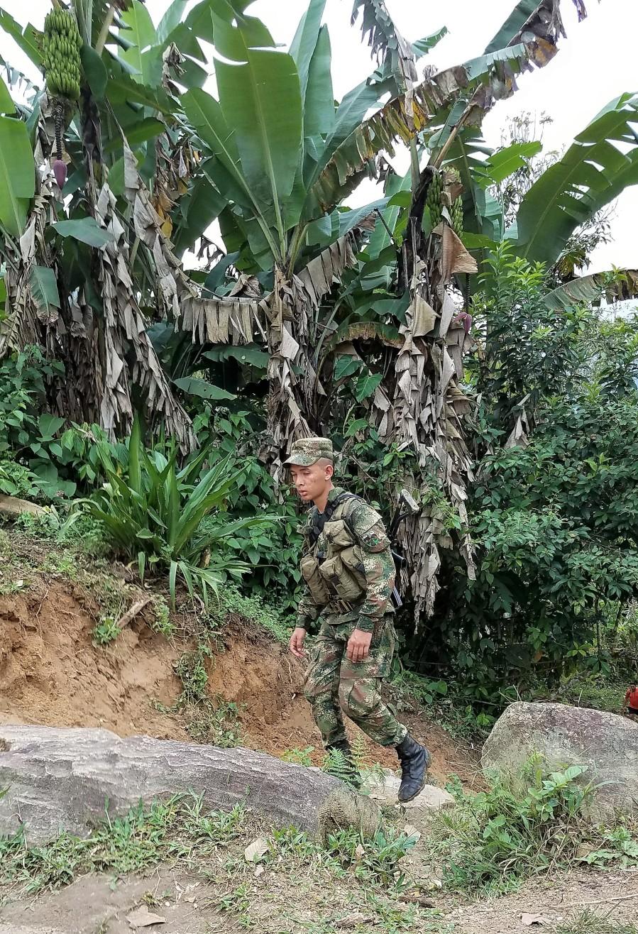 Sierra Nevada soldier