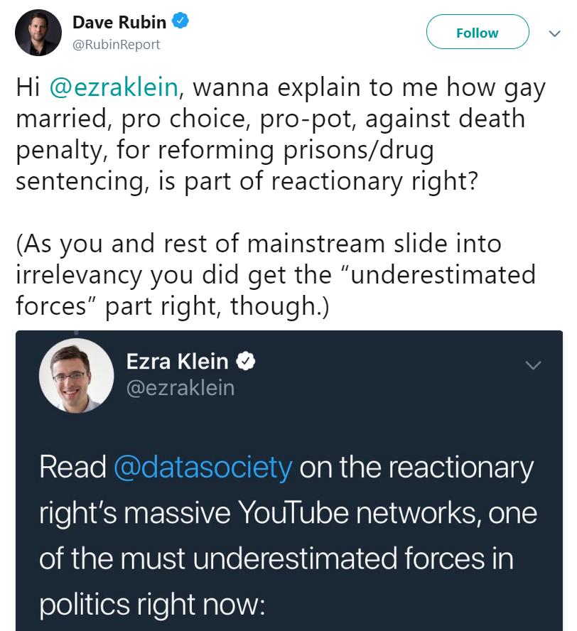 Rubin Klein tweet