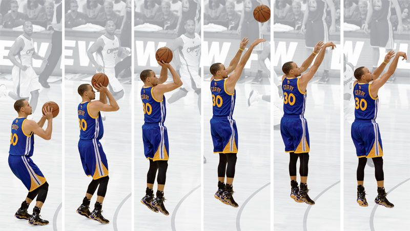 steph curry jump shot