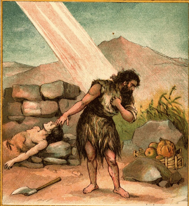 Cain and god